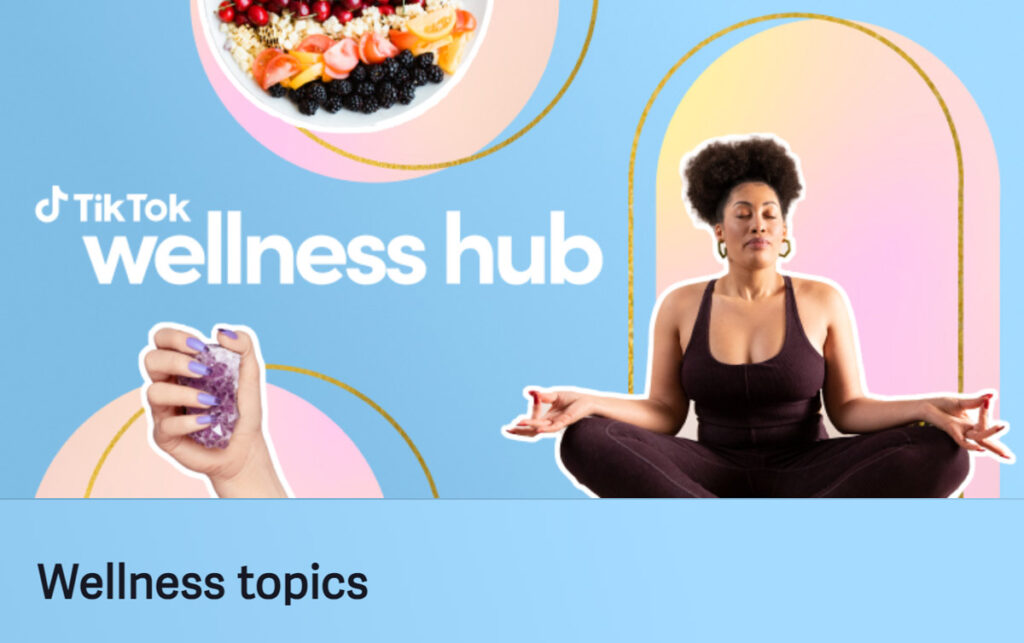 TikTok Wellness Hub